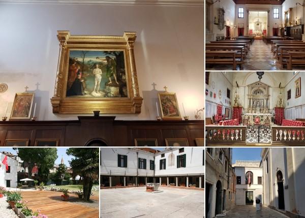 The church of San Giovanni Battista of the Order of Malta